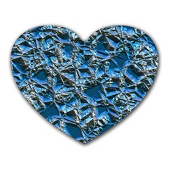 Jagged Stone 2c Heart Mousepads by MoreColorsinLife