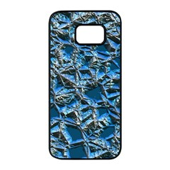 Jagged Stone 2c Samsung Galaxy S7 Edge Black Seamless Case by MoreColorsinLife