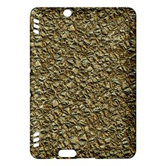 Jagged Stone Golden Kindle Fire Hdx Hardshell Case by MoreColorsinLife