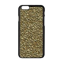 Jagged Stone Golden Apple Iphone 6/6s Black Enamel Case by MoreColorsinLife