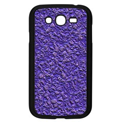 Jagged Stone Blue Samsung Galaxy Grand Duos I9082 Case (black) by MoreColorsinLife