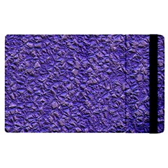 Jagged Stone Blue Apple Ipad Pro 12 9   Flip Case by MoreColorsinLife