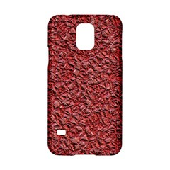Jagged Stone Blue Samsung Galaxy S5 Hardshell Case  by MoreColorsinLife