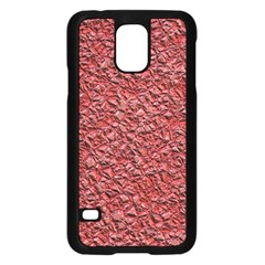 Jagged Stone Blue Samsung Galaxy S5 Case (black) by MoreColorsinLife