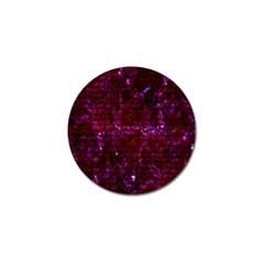 Brick1 Black Marble & Burgundy Marble (r) Golf Ball Marker (10 Pack) by trendistuff