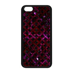 Circles3 Black Marble & Burgundy Marble Apple Iphone 5c Seamless Case (black) by trendistuff