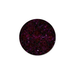 Damask1 Black Marble & Burgundy Marble Golf Ball Marker (10 Pack) by trendistuff
