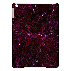 Damask2 Black Marble & Burgundy Marble (r) Ipad Air Hardshell Cases by trendistuff