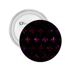 Royal1 Black Marble & Burgundy Marble (r) 2 25  Buttons by trendistuff