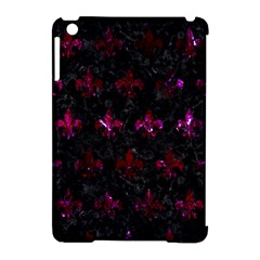 Royal1 Black Marble & Burgundy Marble (r) Apple Ipad Mini Hardshell Case (compatible With Smart Cover) by trendistuff