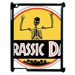 Jurassic Dad Dinosaur Skeleton Funny Birthday Gift Apple Ipad 2 Case (black) by PodArtist