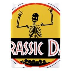 Jurassic Dad Dinosaur Skeleton Funny Birthday Gift Apple Ipad 3/4 Hardshell Case by PodArtist