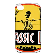 Jurassic Dad Dinosaur Skeleton Funny Birthday Gift Apple Iphone 4/4s Hardshell Case With Stand by PodArtist