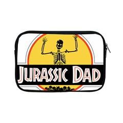 Jurassic Dad Dinosaur Skeleton Funny Birthday Gift Apple Ipad Mini Zipper Cases by PodArtist