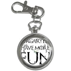 Targaryens Have More Fun   Blondes Have More Fun Black Key Chain Watches by PodArtist