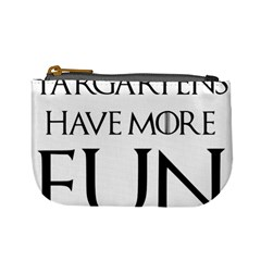 Targaryens Have More Fun   Blondes Have More Fun Black Mini Coin Purses by PodArtist