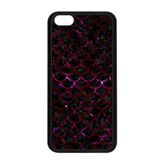 Scales1 Black Marble & Burgundy Marble Apple Iphone 5c Seamless Case (black) by trendistuff