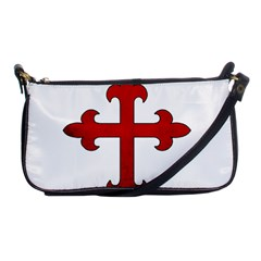 Crusader Cross Shoulder Clutch Bags by Valentinaart