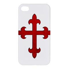 Crusader Cross Apple Iphone 4/4s Premium Hardshell Case by Valentinaart