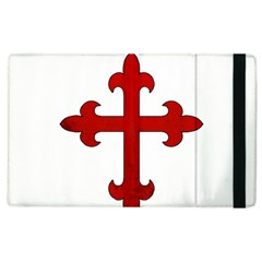 Crusader Cross Apple Ipad 3/4 Flip Case by Valentinaart