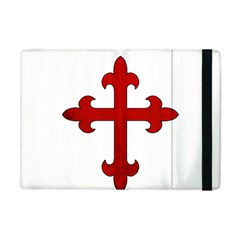 Crusader Cross Apple Ipad Mini Flip Case by Valentinaart