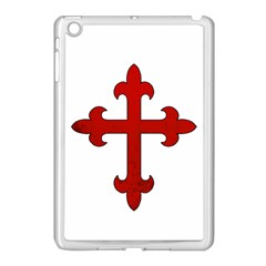 Crusader Cross Apple Ipad Mini Case (white) by Valentinaart