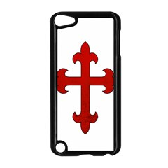 Crusader Cross Apple Ipod Touch 5 Case (black) by Valentinaart