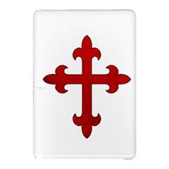Crusader Cross Samsung Galaxy Tab Pro 12 2 Hardshell Case by Valentinaart
