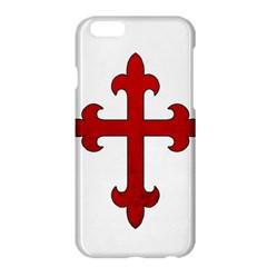 Crusader Cross Apple Iphone 6 Plus/6s Plus Hardshell Case by Valentinaart
