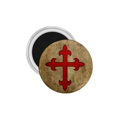 Crusader Cross 1 75  Magnets by Valentinaart