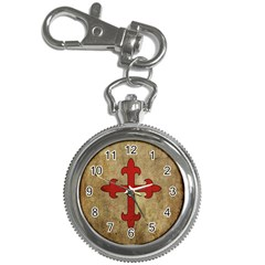 Crusader Cross Key Chain Watches by Valentinaart