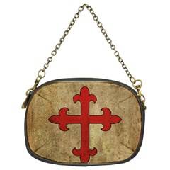 Crusader Cross Chain Purses (two Sides)  by Valentinaart