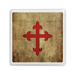 Crusader Cross Memory Card Reader (square)  by Valentinaart