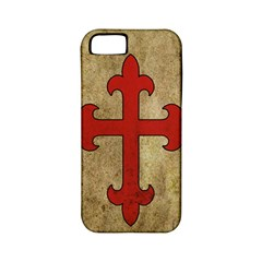 Crusader Cross Apple Iphone 5 Classic Hardshell Case (pc+silicone) by Valentinaart
