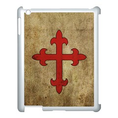 Crusader Cross Apple Ipad 3/4 Case (white) by Valentinaart