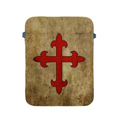 Crusader Cross Apple Ipad 2/3/4 Protective Soft Cases by Valentinaart