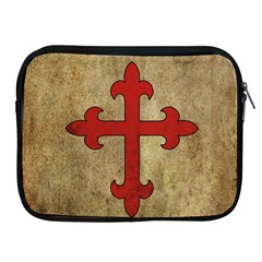 Crusader Cross Apple Ipad 2/3/4 Zipper Cases by Valentinaart