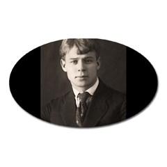 Sergei Yesenin Oval Magnet by Valentinaart