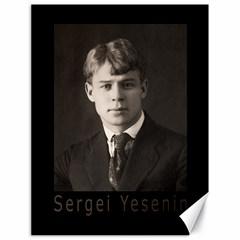 Sergei Yesenin Canvas 18  X 24   by Valentinaart
