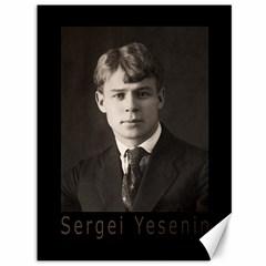 Sergei Yesenin Canvas 36  X 48   by Valentinaart