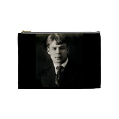 Sergei Yesenin Cosmetic Bag (medium)  by Valentinaart