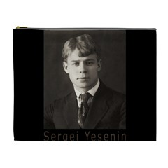 Sergei Yesenin Cosmetic Bag (xl) by Valentinaart
