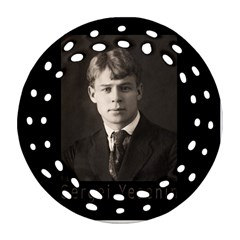 Sergei Yesenin Ornament (round Filigree) by Valentinaart