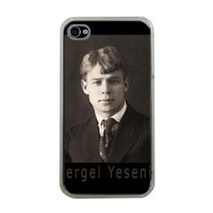 Sergei Yesenin Apple Iphone 4 Case (clear) by Valentinaart