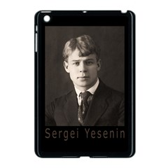 Sergei Yesenin Apple Ipad Mini Case (black) by Valentinaart