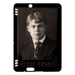 Sergei Yesenin Kindle Fire Hdx Hardshell Case by Valentinaart