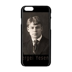 Sergei Yesenin Apple Iphone 6/6s Black Enamel Case by Valentinaart