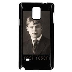 Sergei Yesenin Samsung Galaxy Note 4 Case (black) by Valentinaart