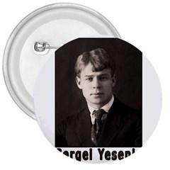 Sergei Yesenin 3  Buttons by Valentinaart
