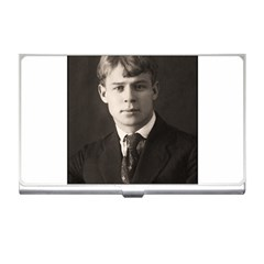 Sergei Yesenin Business Card Holders by Valentinaart